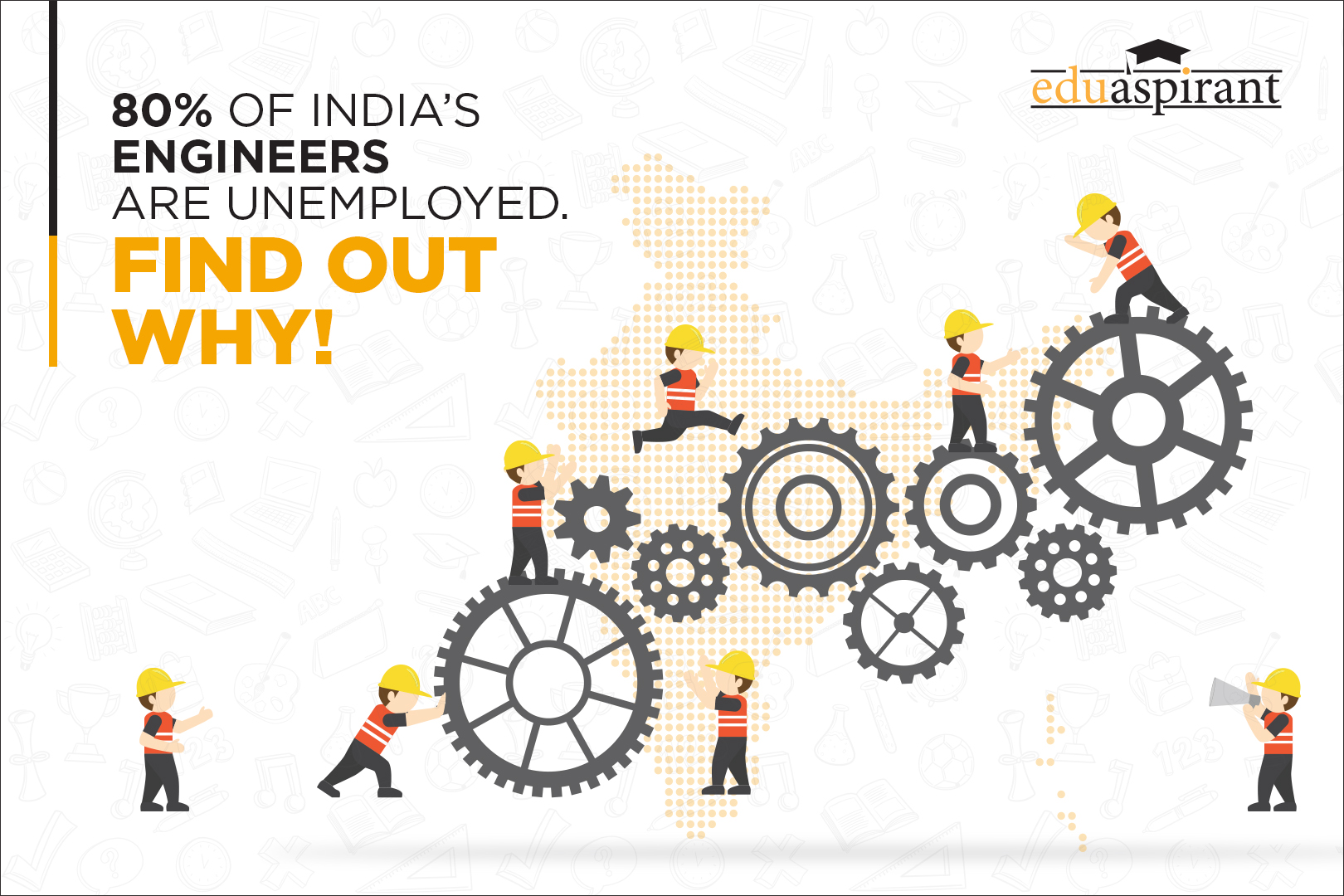 80% Unemployed Engineers in India – Where is the Gap?