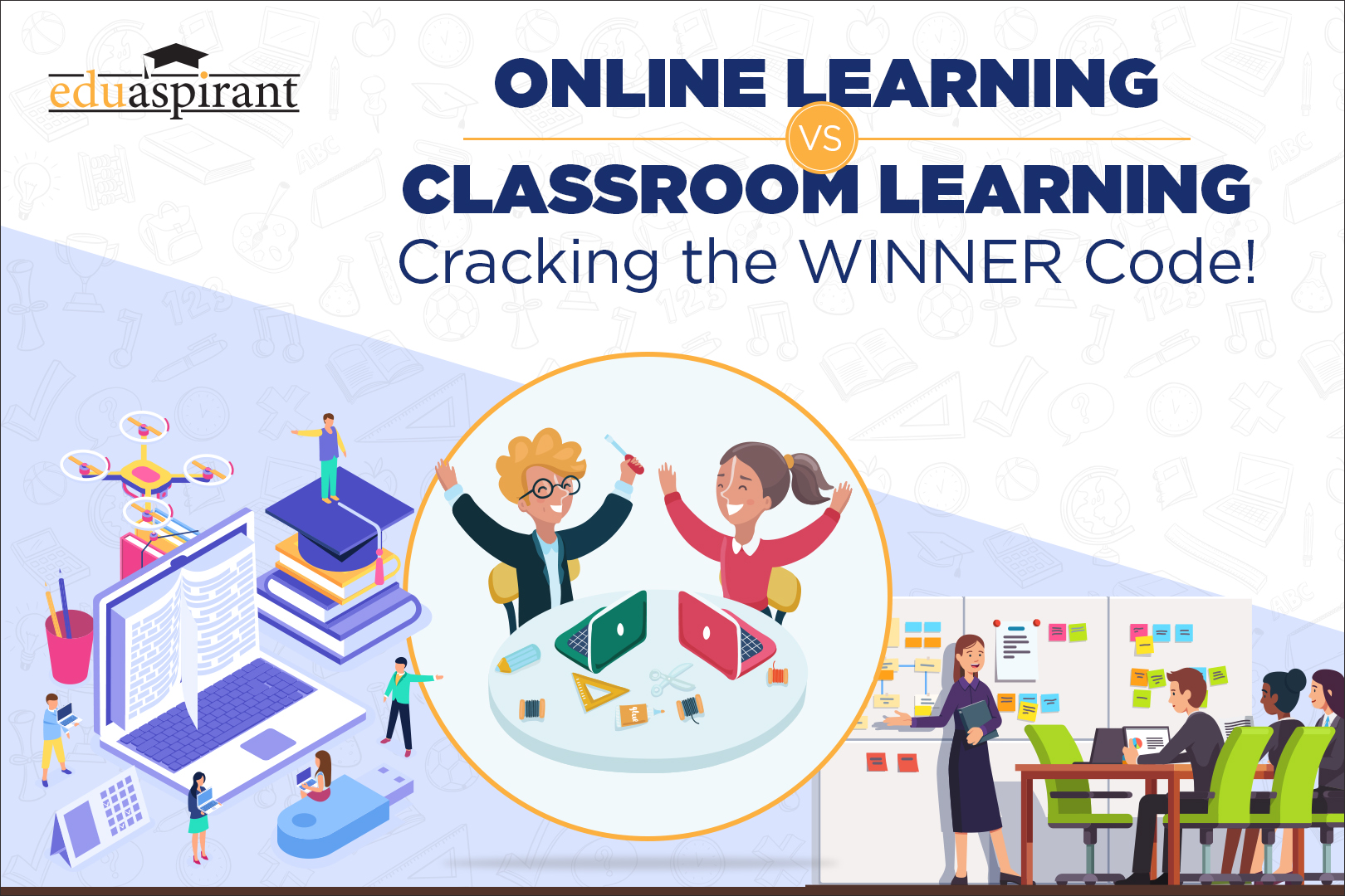 In the Online Learning vs Classroom Learning Debate, Who is the Real Winner?